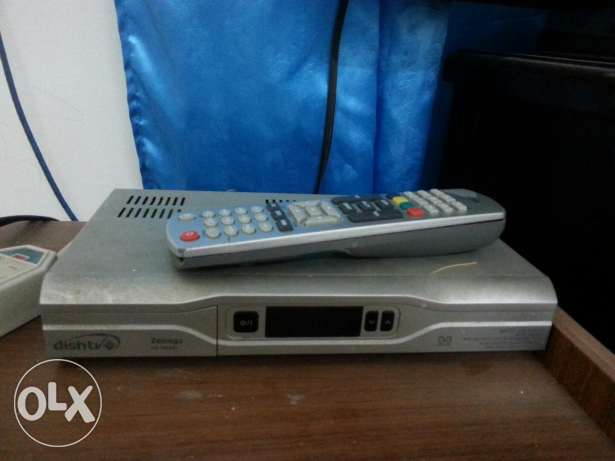 Dish tv receiver and anttina
