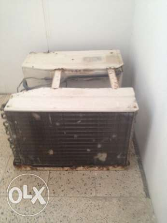two window AC for sale مسقط -  2
