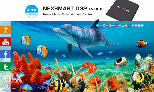 The bes offer for NEXSMART Android TV Box with kodi مسقط -  4