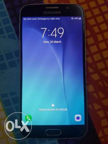 Samsung s6 flat almost new condition for sale.