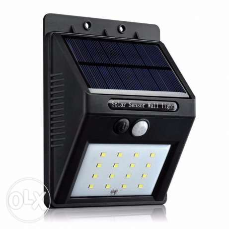 20 LED Outdoor Solar Powered Lights Motion