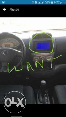 I want LCD for my daihatsu Siron car so if you have ? plese contact  I want this one