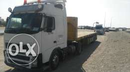 FH 12 volvo Fully automatic model 2004 and trailer model 2014