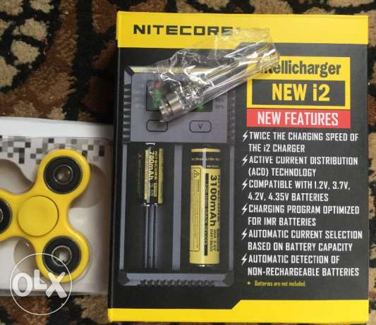 Mite ore i2 intellicharger -Vape accessories-18560 charger