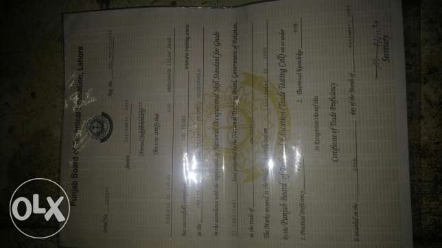 I am Mechanical Diploma 2 years tig mig andelectric welding