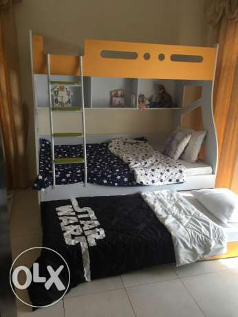 Bunk bed with 3 beds