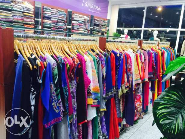 Indian fashion retail boutique in Ruwi plaza