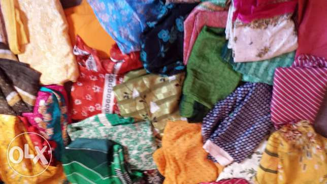 50 SARIS FOR ONE RIAL EACH (unused and sparingly used)