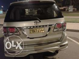 Toyota Fortuner 4000 cc 2014 year modelfor sale