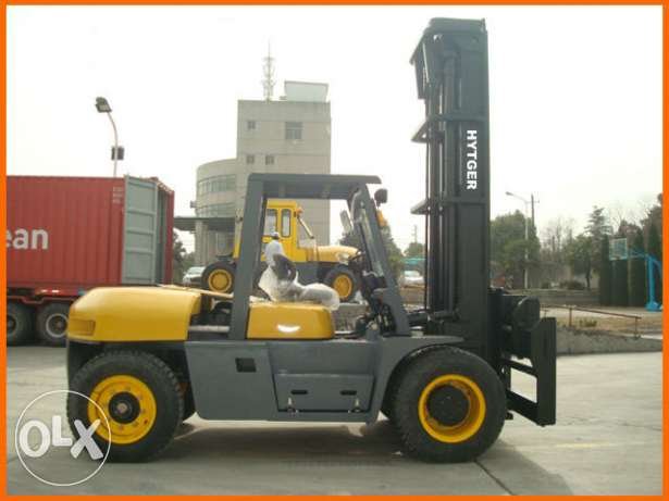 forklift diesel with ISUZU engin مسقط -  1