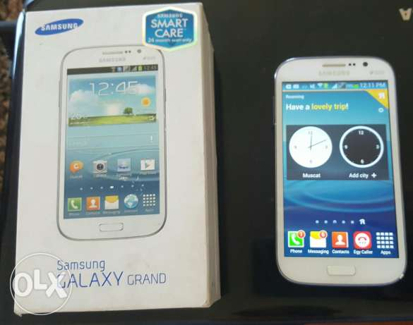 Samsung grand dous (2 sim cards) in excellent condition