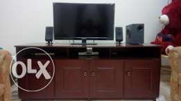 32'' led TV with dish Tv receiver & audio system for sale