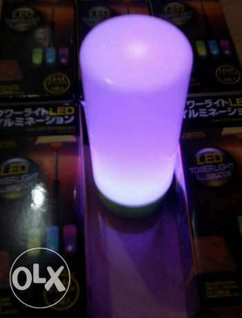 colour changing led bulb- battery operated