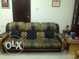 Sofa, double bed, dressing table, study table and many other items