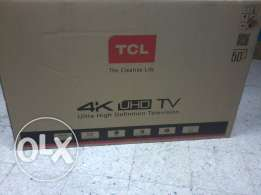 "50"" Tcl 4 k UHD SMART internet full hd led tv for imed sale"