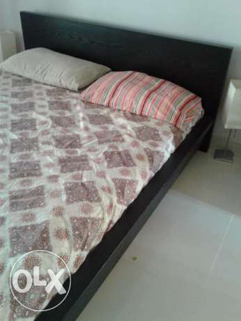 For urgent sale; double bed from ikea مسقط -  3