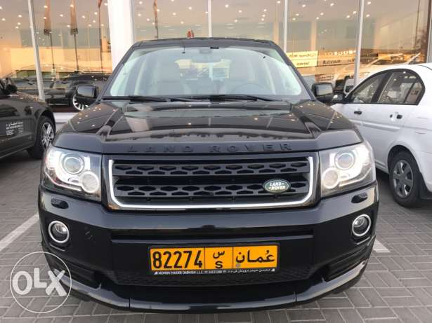 Land Rover LR2 2015 under warranty until 2020 oman agency
