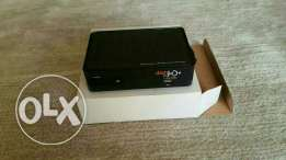 Dish tv receiver with sattalit dish