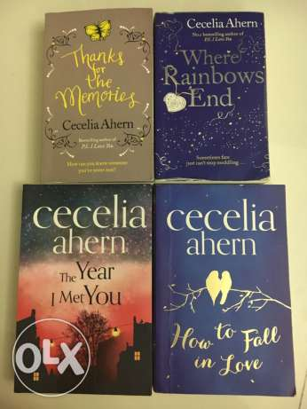 Books by Cecelia ahern(fiction)