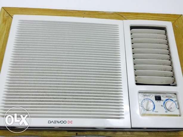 Daewoo 1.5 window AC