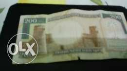 Very old Currancy Saudi Arabia riyals for sale vry good condition