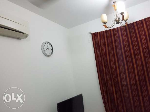 Ruwi - Separate fully furnished room with attached washroom for rent مسقط -  3