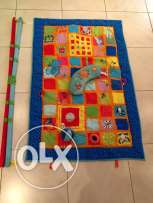 Activity Gym for babies, branded, large size, excellent condition