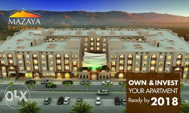 Apartments for SALE behind City Centre, Seeb - Off Plan