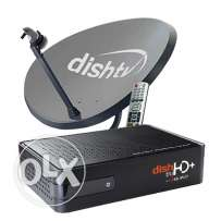 Indian Dish TV big Receiver + Dish HD setup Box