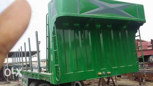 urgent for sale today brand new 3 axle flat bed trailers