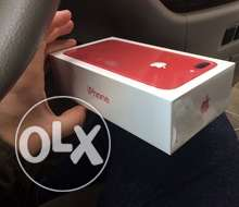 i phone 7plus red color