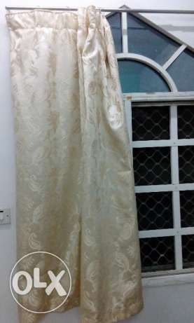 Window curtains - Gold Color