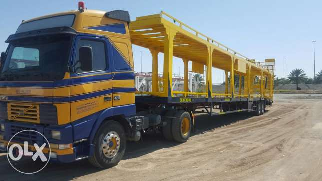 volvo Prime Mover And Car carrier