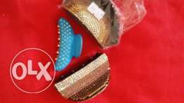 bangles and hair clips