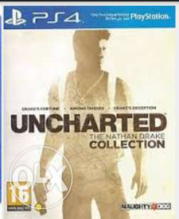 مطلوب uncharted collection