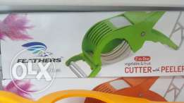 2 in 1 peeler and cutter