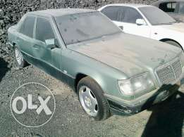Mercedes Benz 200 for sale along with plate number