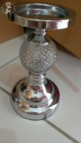 Crystal finish candle stand..new..ro 2.8