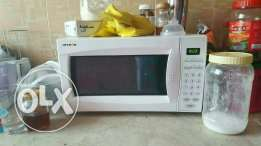 Aftron microwave in newly used condition