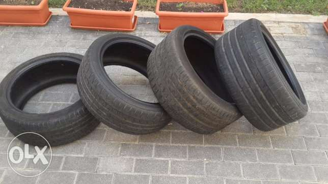 Used 2012 Tires ContiSportContact 3 Continental