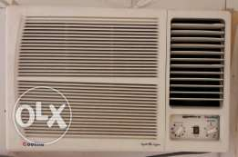 Window AC COOLINE 1.5 ton big compressor