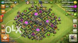 Clash of clans town sell