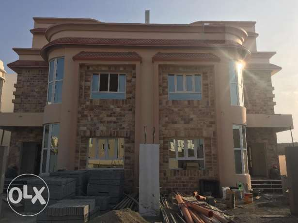 w1 brand new villa for rent in al ansab بوشر -  1