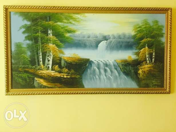Beautiful painting on canvas
