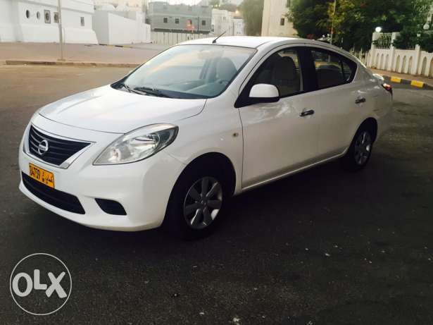 Full finance without zero down payment Nissan sunny 1.5 cc 2012 Auto مسقط -  1