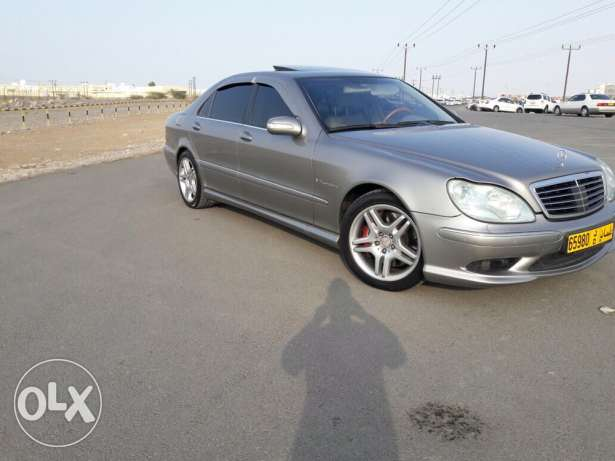 S55 AMG Supercharge 2004
