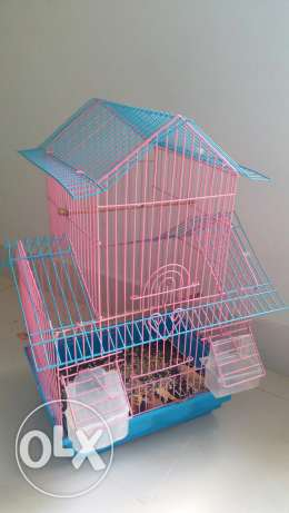 Cage for love birds good condition