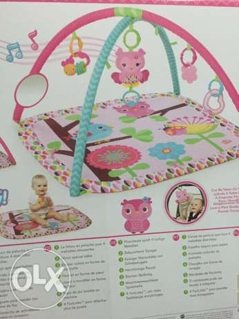 Bright Starts play mat السيب -  1
