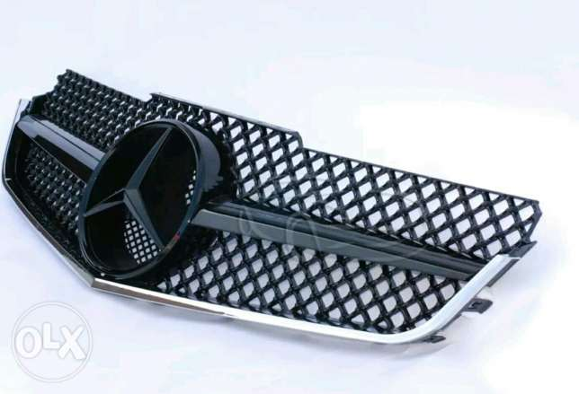 Mercedes E-coupe grill صحار -  3