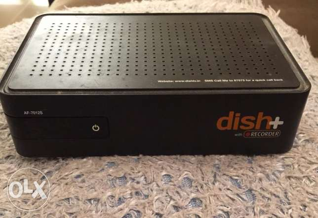 Dish Plus Receiver with recording